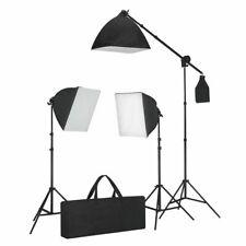 vidaXL Studiolampenset met Daglichtlampen en Softbox Belichtingsset Studioset