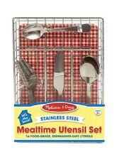 Melissa & Doug Let's Play House! Mealtime Utensil Set #9347 New Sealed