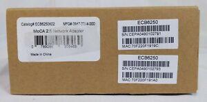 Actiontec - ECB6250 - Black - 2 Pack MoCA 2.5 Network Adapter Kit