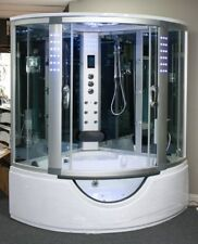 Two Person Steam Shower, Aromatherapy,Whirlpool,Bluetooth,USA Warranty.