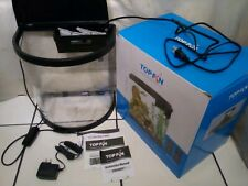 New listing Top Fin Underwater World 3.5 gl Tank Set Up (with additional filter for 2gl )