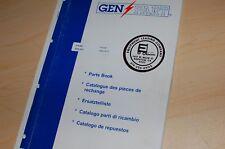 Perkins 1006 6tg Industrial Diesel Engine Parts Manual Book Catalog 2004 List