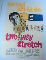 """1960 Two-Way Stretch Movie Poster Peter Sellers British Comedy One Sheet 27""""x41"""""""