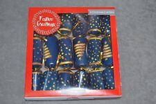 """6 x Christmas Crackers Family Party Xmas Tree Festive Hat Jigsaw Puzzle Joke 10"""""""