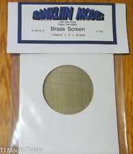 Franklin Models #102 Brass Screen (60 Mesh)