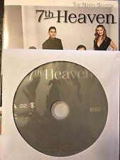 7th Heaven - Season 9, Disc 1 REPLACEMENT DISC (not full season)