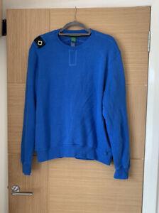 Ma.strum Sweatshirt Jumper Blue Size Large Excellent Condition