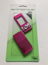 Sony Ericsson W580 Full Fascia Housing Cover Front Back Case Keypad Pink
