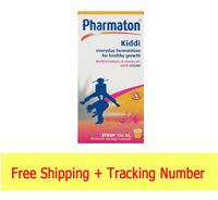 Pharmaton Kiddi  100 ml  Multivitamin syrup with Lysine and Calcium