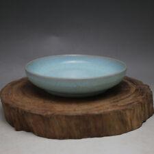 Chinese ancient antique hand make Ru kilo glaze washing bowl