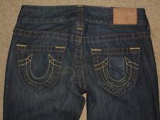 True Religion sz 25 Measure Short Bootcut Womens Jeans ST# WB82358E4