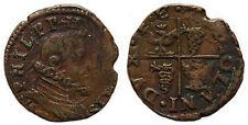ITALIE - Milan.  Philippe III d'Espagne (1598-1621) Quattrino, 160[3?]