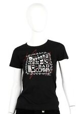 Emily the Strange -Small- $38 Black Better Alone Bad Company T-Shirt Tee Top NWT