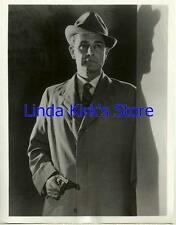 """Donald Gray Promotional Photograph Mark Saber """"The Vice"""" ABC-TV B&W 1956"""