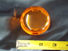 AMBER DEUCE STYLE REPLACEMENT LENS FOR 2000 - PRESENT FXST FXD XL FLHX HARLEY
