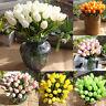 Artificial Fake Flowers Bridal Hydrangea Wedding Bouquet Party Garden Home Decor