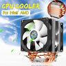 CPU Kühler Dual Lüfter für LGA 1150/1151/1155/1156/1366/775 Core i3 i5 i7 3  *