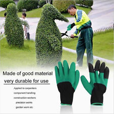Garden Genie Gloves For Digging&Planting With 4 ABS Plastic Claws