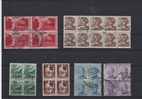 Italy Used Stamps Blocks Ref 23832
