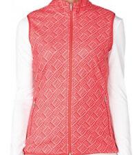 Adidas Women Printed Fleece Vest (S) Red AF0806