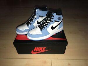Nike Air Jordan 1 Retro High University Blue Sneaker neu, 7 US, 40 EU 555088-134