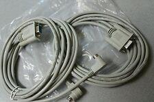 Allen Bradley PLC Programming Cable(s)! 1761-CBL-PM02 AB Micrologix 1200 1500