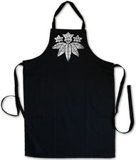 MINAMOTO CLAN MON BBQ COOKING KITCHEN APRON Shogun Samurai Ninja Flag Sign