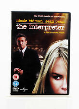 The Interpreter - Nicole Kidman - DVD - Good Condition