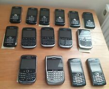 Job Lot of 15x BlackBerry Smartphones - All Tested + 18 Micro SD Cards