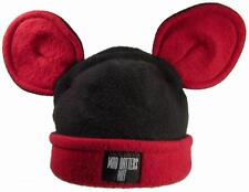Hat Beanie Mad Hatter Mickey Mouse Winter Ski Snow 100% Polyfleece