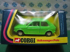 Corgi toys 289 - Volkswagen Polo - mint IN Box