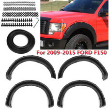 For 2009-2015 Ford F150 Offroad 4Pcs Fender Flares Truck Wheel Cover Body  D