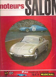 MOTEURS 57 1966 GIULIA SPRINT GTV MATRA DJET 5 S GP ITALIE ALLEMAGNE HOLLANDE GB
