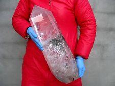 34.22lb HUGE NATURAL Clear quartz crystal Point healing