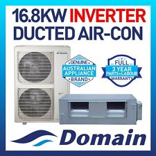 NEW DOMAIN PREMIUM 16.8KW INVERTER REVERSE DUCTED SPLIT SYSTEM AIR CONDITIONER