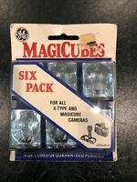 Package of Six 6 GE MagiCubes Flash Photography Bulb Brand New NOS Vintage