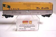 MICRO TRAINS 03200222 032 00 222 DENVER RIO GRANDE D&RGW 50' PLUG BOX #60809 N