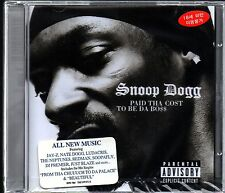 Snoop Dogg -  Paid Tha Cost To Be Tha Boss Audio CD Sealed NEW