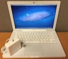 """4.1 Apple MacBook 13.3"""" / 2.1GHz 2GB RAM 120GB HD - OS X 10.7.5 Lion Installed!"""