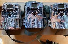Three Used Browning Strike Force 850 Hd Trail Camera 16Mp Btc-5Hd-850 Three