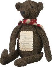 Very Primitive``Christmas `Teddy Bear Doll` Primitives By Kathy`Retail $30.00