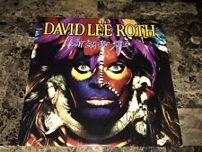 Steve Vai Signed Autographed David Lee Roth Eat Em And Smile Vinyl LP Record COA