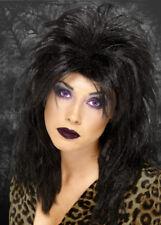 Womens Black Layered Goth Wig