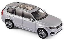 Volvo XC90 2015 électrique Argent métal argenté 1:43 Norev