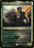 MTG Dominaria - Shanna, Sisay's Legacy  - FNM FOIL Promo NM Card
