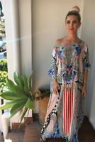new CAMILLA FRANKS SILK SWAROVSKI MEET ME HERE  ROUND NECK KAFTAN layby avail