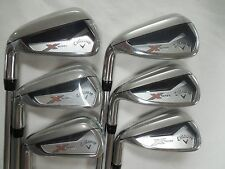 New LH Callaway X-Series N415 Iron Set 5-PW Steel Uniflex Left-Handed Irons