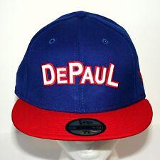 uk availability bd22d 29790 Blue Demons NCAA Basketball Team Cap Hat New Era 5950 7 5