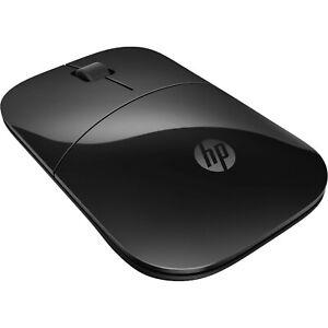 New HP Z3700 Wireless Mouse Matte Black/Glossy Black V0L79AA#ABL