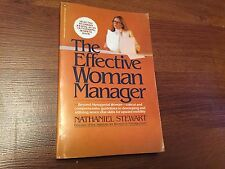 The Effective Woman Manager by Nathaniel Stewart (1980, Paperback) store#6372